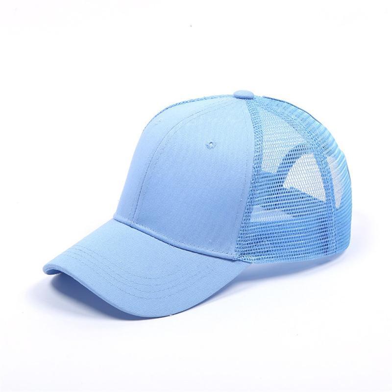 Sun Hat Men Bucket Hats Messy Buns Trucker Plain Baseball Visor Cap Dad Hat Short Brim Baseball Cap For Women 2020