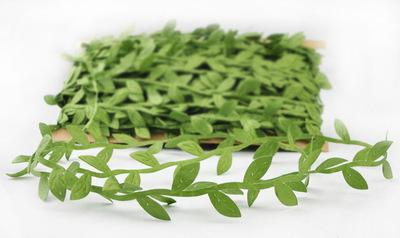 Simulation leaf leaves green vines garland decoration accessories clothy green leaves rattan leaves artificial flowers EEA403