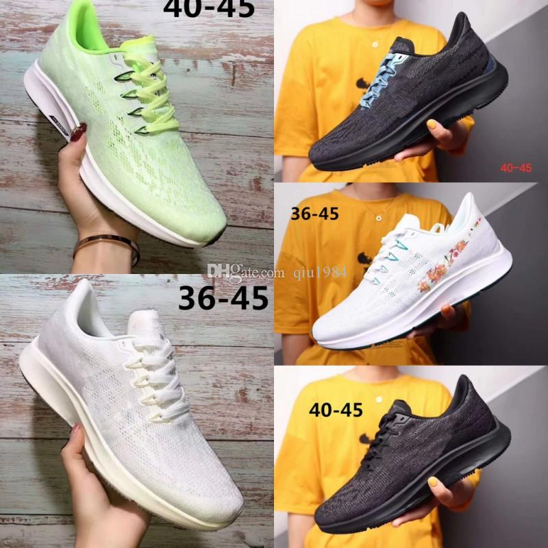 Yüksek kalite 2019 Sıcak Yeni Zoom Pegasus 36 marka koşu ayakkabı Mens Womens Klasik Mesh Nedensel ayakkabı 36 s nefes eğitmenler Spor Sneakers