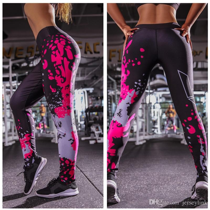 Leggings für fitness yoga hosen frauen hohe taille sport leggings weibliche sporthose nahtlose yoga sportswear kompression # 1005164