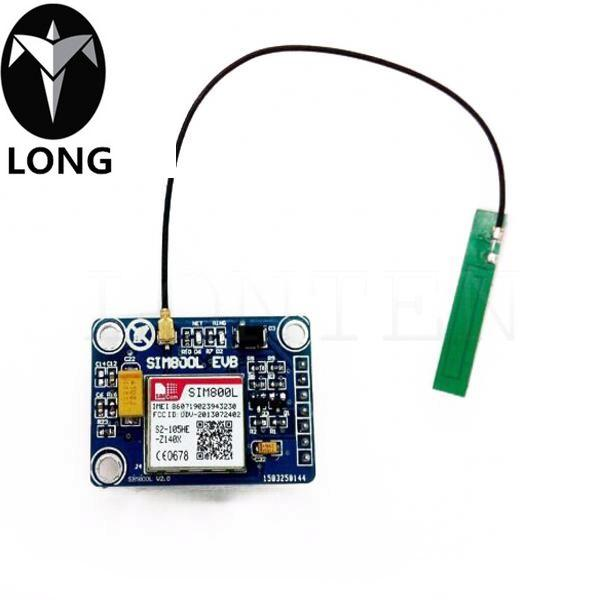 New SIM800L GPRS GSM Module W/ PCB Antenna SIM Board Quad Band For MCU For  Arduino Online Shop Electronics Wholesale China Electronics From