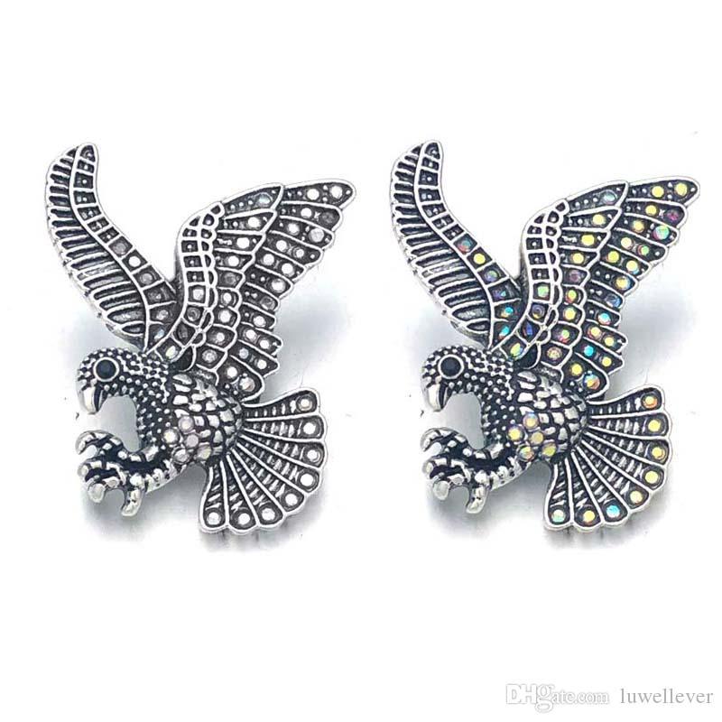 Wholesale w448 Flower 3D 18mm 25mm 30mm Metal Snap Button For Bracelet Necklace Interchangeable Jewelry Women Accessorie Findings