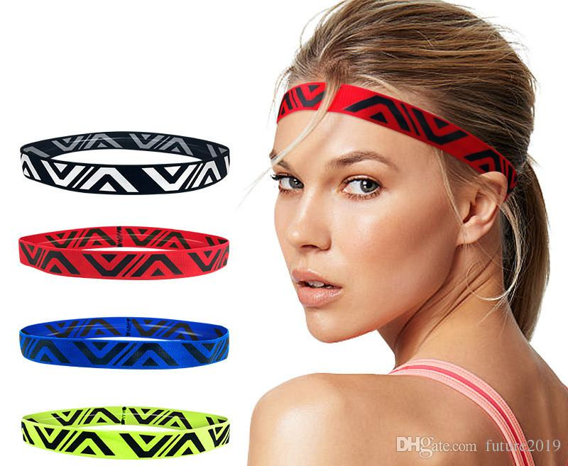 Headband Sports Sweat Belt Running Hair Band Basketball Protection Forehead Sweat Wicking Belt Female Headscarf Fitness