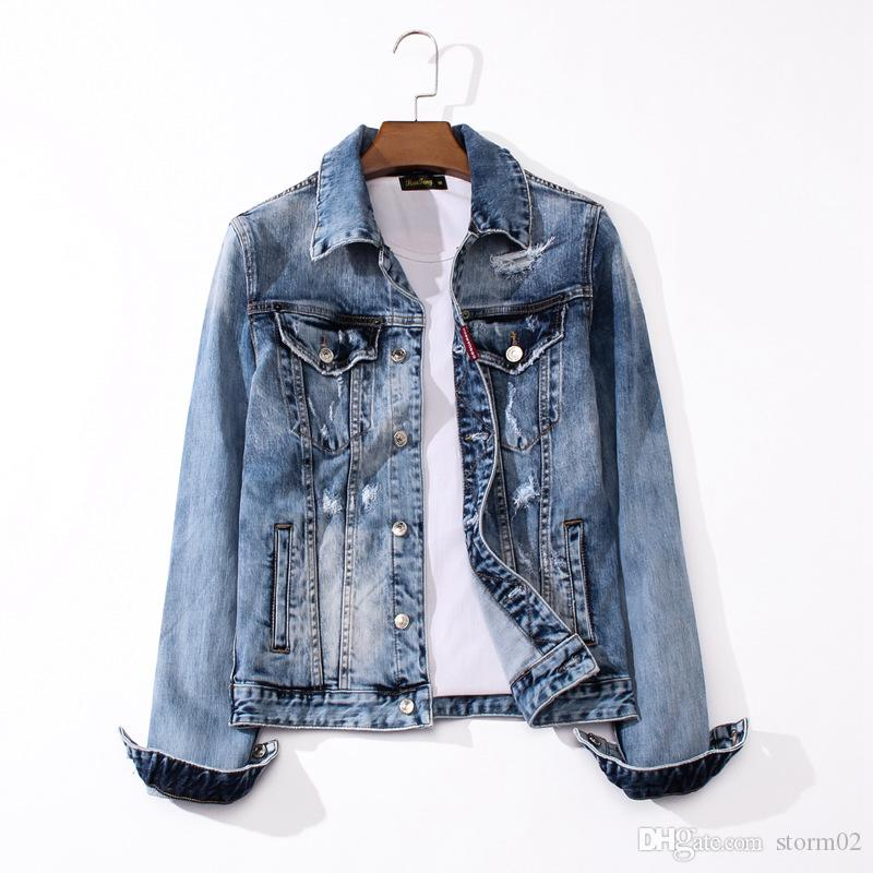 19AW new designer luxury jeans Western jeans jacket hot brand designer hot men's wear designer jeans J1