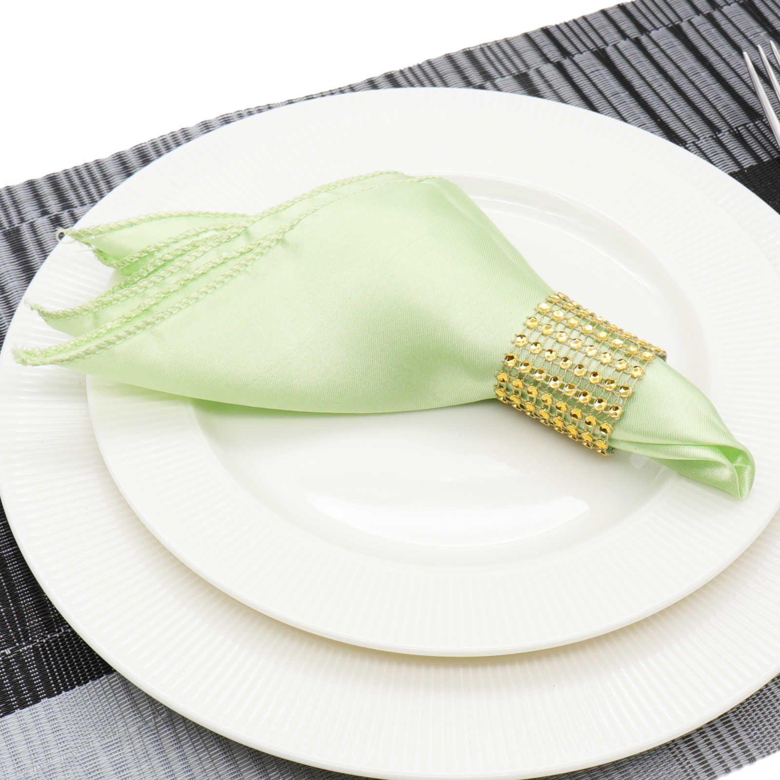 1pcs 30cm Table Napkin Square Satin Fabric Pocket Handkerchief Cloth For Wedding Decoration Event Party Hotel Home Supplies C19021301
