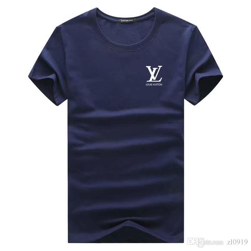 2020 Designer de luxo Camiseta Verão Camiseta Mens Fashion Designer T Shirt Hip Hop Homens Mulheres Preto manga curta Tees Tamanho S-XXL
