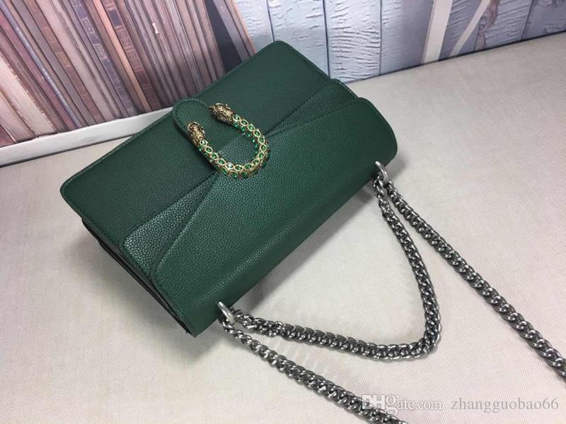 2020 Ultime Leather Chain di modo delle donne della borsa delle donne di sacchetto e Shoulder Bag 28x18x9cm