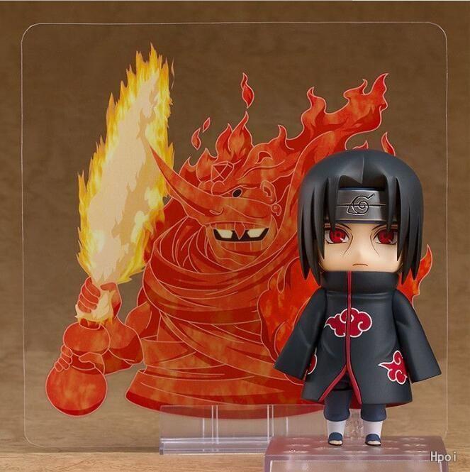 Anime Naruto Shippuden Uchiha Itachi Nendoroid 820# PVC Figure New No Box (10cm)