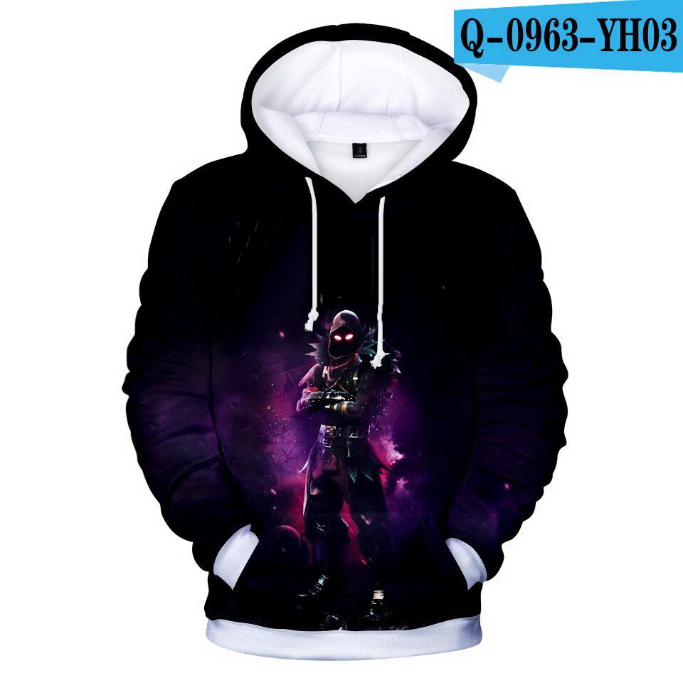 new Kids Girls Boys 3D Print Hoodie Pullover Hooded Sweatshirt Hoody Jacket