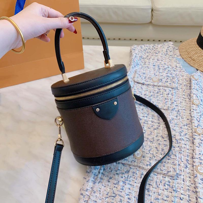 Designer Handtaschen Portemonnaie Neue Marke L0g0 Frauen Designer-Handtaschen aus Leder Art und Weise hochwertiger kosmetischer Fall Bucket Bag