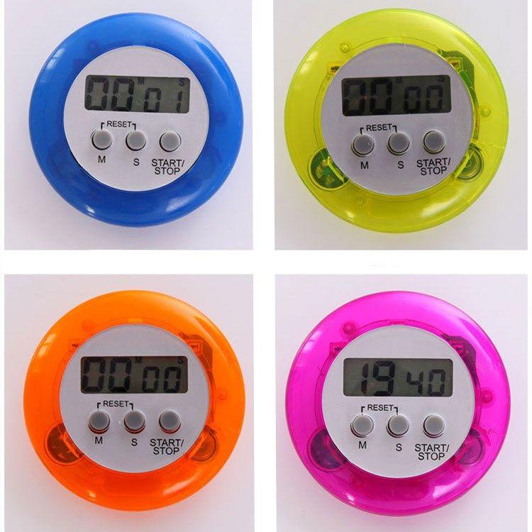 moda Tempo di cottura Allarme Rosso Pomodoro di stile meccanico Countdown Timer circolare timer elettronico Timer da cucina Cucina ToolsT2I5158