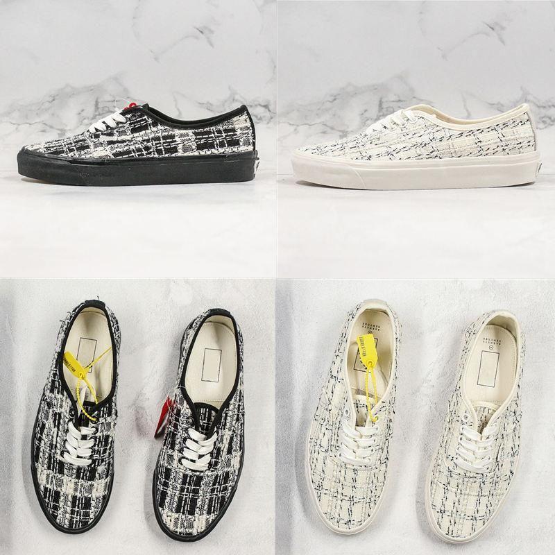 2020 Vault OG Authentic LX Revenge X Storm Old Skool Canvas Men Sneakers Black White Skateboard Shoes Low-Help Women Casual Shoes