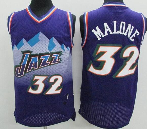 wholesale dealer fb76d 377ed 2019 Hot Sale Retro 2019 Utah Basketball Jersey 12 John Stockton 32 Malone  Karl 45 Donovan Mitchell 27 Rudy Gobert Stitching JerseysHot Sale Retr From  ...