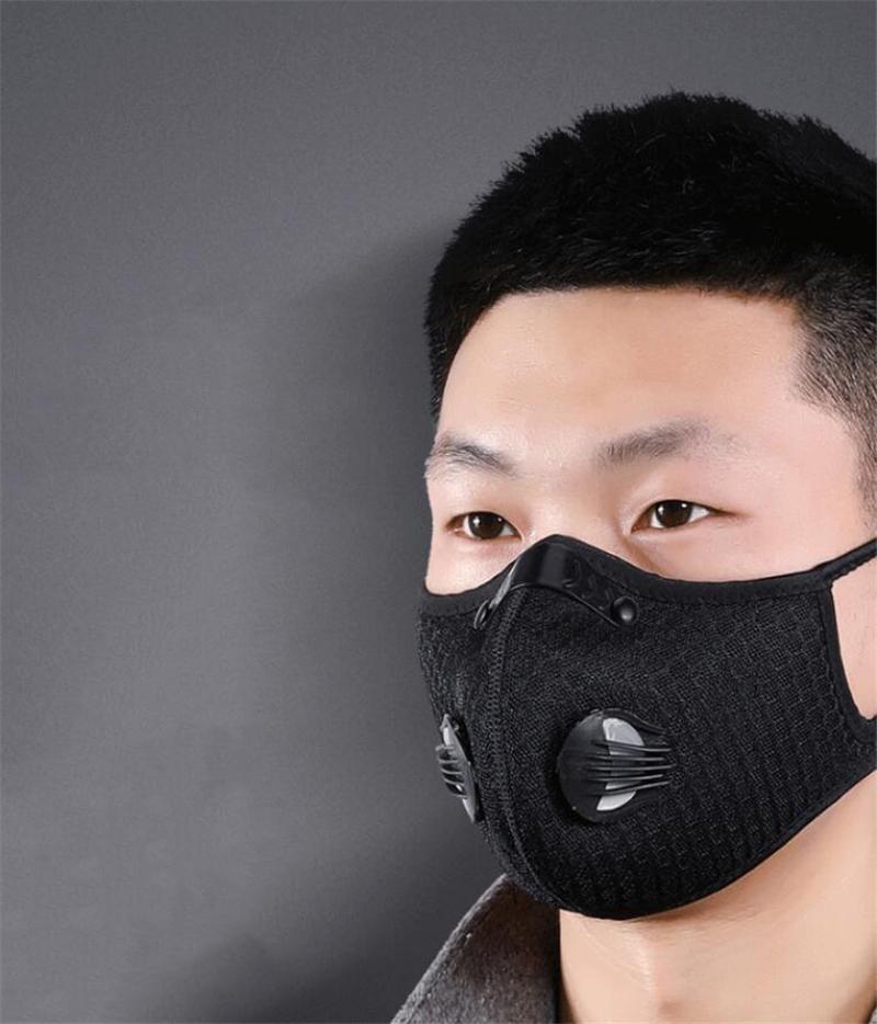 50 1PCS 100 1PCS 3Layer Anti Toz Nefes Ağız Yüz Değiştirme Rahat Maske Vamn 8Cnp # QA837