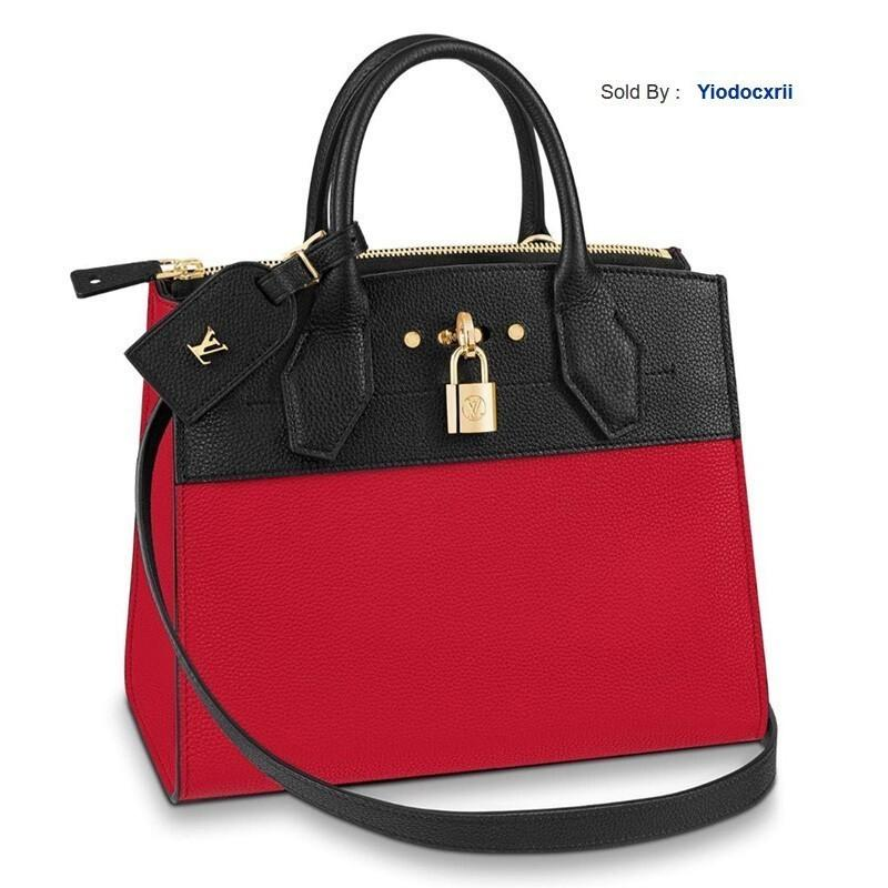 yiodocxrii 1PFH Mano City Steamer Pelle Pm Con Tracolla Tracolla M54868 Totes Handbags Shoulder Bags Backpacks Wallets Purse