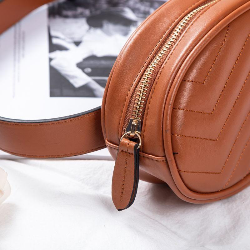 Mochilas Pu cintura empaqueta mujeres paquete de Fanny Bolsas correa del bolso del bolso de las mujeres Dinero teléfono práctico monedero de la cintura sólida bolsa de viaje