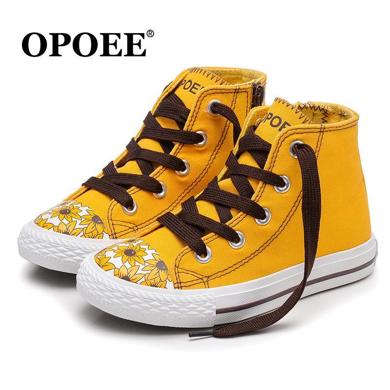 Nouvelles chaussures de toile pour enfants garçons et filles baskets en toile Gao Bang chaussures de sport chaussures enfant bébé couleur unie 5 couleurs vente chaude 02