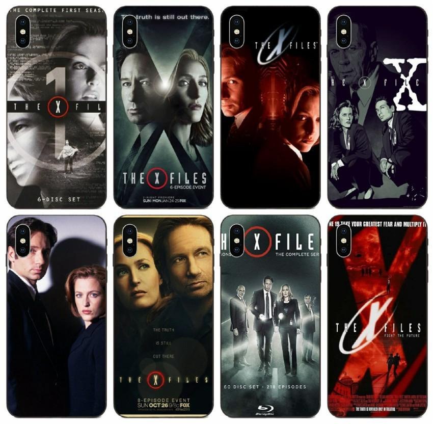 [TongTrade] Le logo X-Files cas pour l'iPhone 8 7 6 5 4 Plus X XS 11 Pro Max Galaxy Note 10 Pro Huawei Maté 7 8 9 10 20 Sony Xperia T3 Case