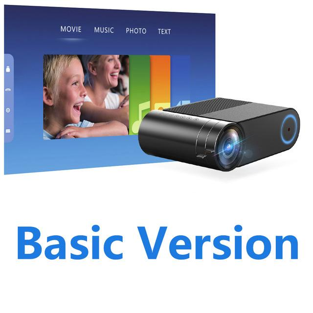 Freeshipping Newest HD 720P LED Projector For 1080P Wireless WiFi Multi-Screen Video Projector 3D HDMI VGA AV Beamer