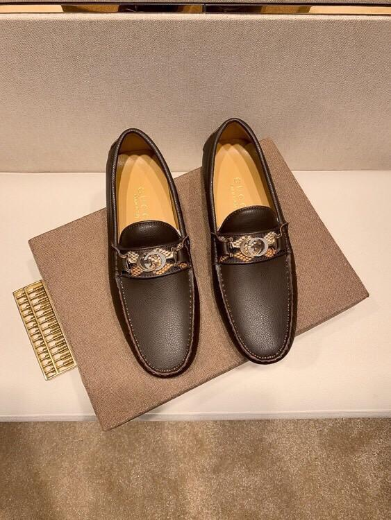 2020Designer NOUVEAU Chaussures Hommes Chaussures BasketsGGChaussures Business Casual hommes 38-46 1008-9