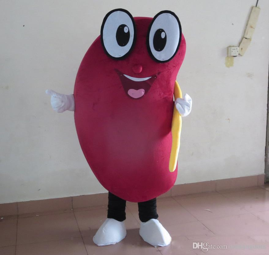 Discount factory sale new happy healthy kidney mascot costume for adult to wear for sale