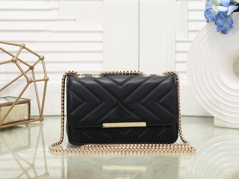 Pink sugao designer luxury handbags purses lady crossbody bag high quality pu leather chain shoulder bag women purse hot sales