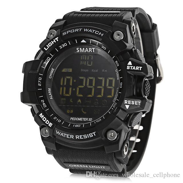 Xwatch الذكية ووتش للياقة البدنية المقتفي IP67 للماء سوار مقياس الخطو الفنية ساعة توقيت رياضية الذكية ساعة اليد للحصول على الروبوت دائرة الرقابة الداخلية فون