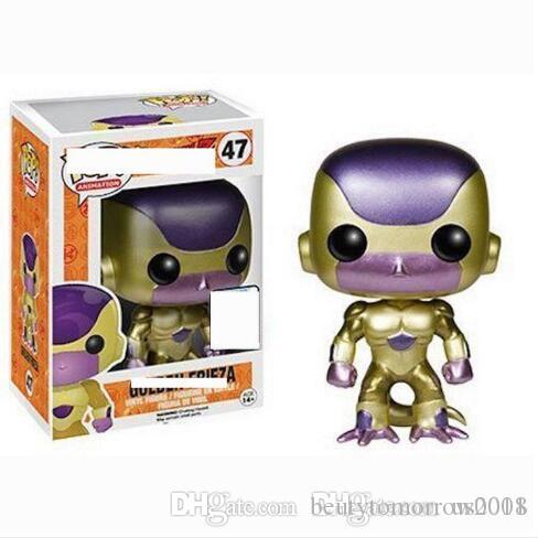 Funko Pop! Anime Dragon Ball Super Frissa gold Vinyl Action Figure with Box #47 Toy Gift Good Quality for kids toys