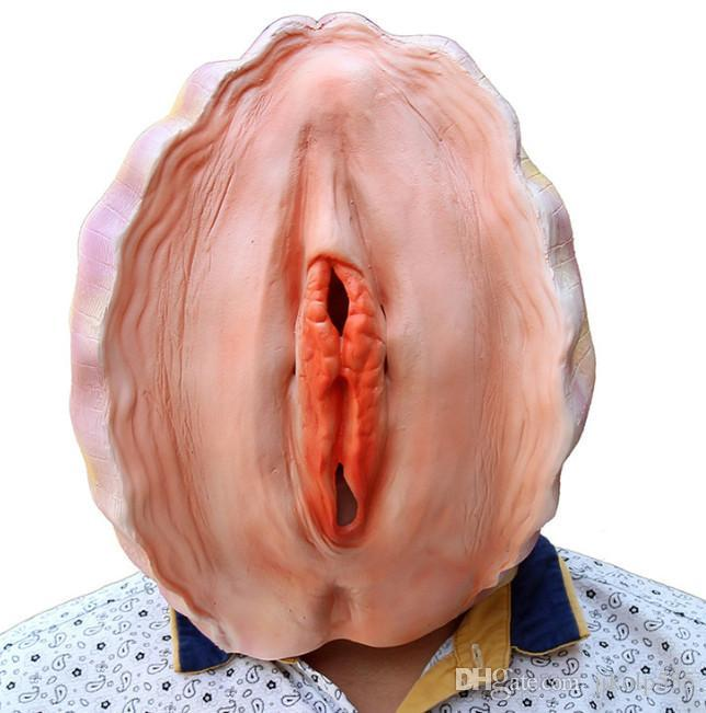 The latest creative models 2 sexual styles Halloween latex mask shells set of funny props free shipping support mass customization