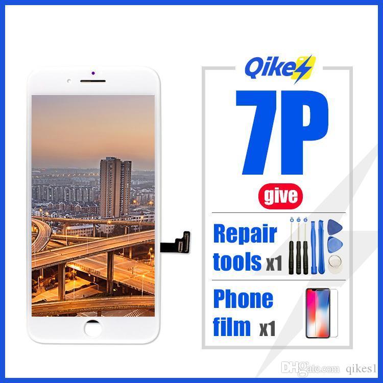 iphone 7plus LCD için Iphone 7 artı LCD Ekran Dokunmatik Sayısallaştırıcı Meclisi için Perakende vermek Tamir araçları filmi Fabrikası Değiştirme LCD