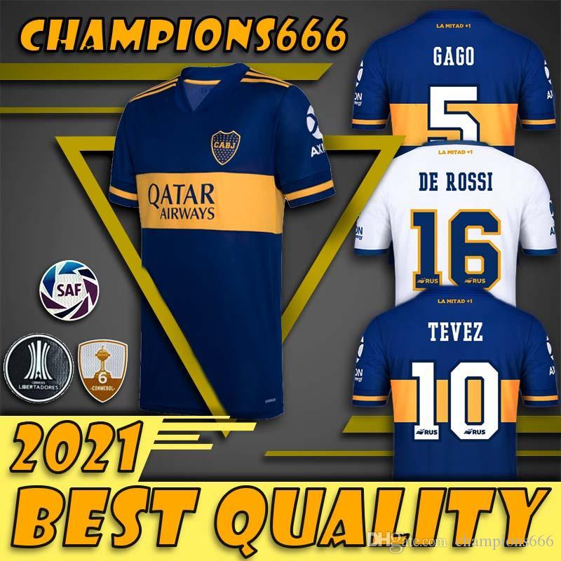 20 21 Boca maison TROISIÈME 2020 2021 PERSONNALISEZ T-SHIRT jersey de football 26 Centurion 19 Bou 4 Peruzzi 9 maillots de football Benedetto