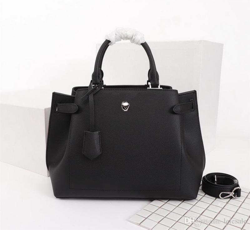Nuove borse di lusso da donna di design di moda nero beige blu borse in vera pelle di mucca Satchel borse da donna di marca borse a tracolla 32.5x14.5x23cm