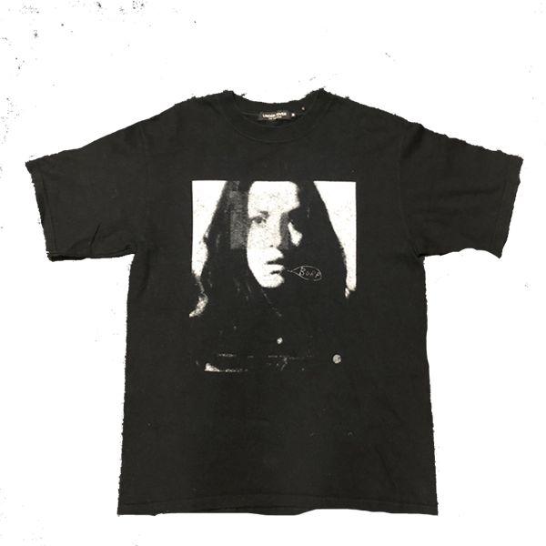 Hombre del diseñador T Shirts Sombras 06ss Carácter ARCHIVO foto de la vendimia impresión de algodón de la calle principal de la camiseta de manga corta de la ropa ocasional