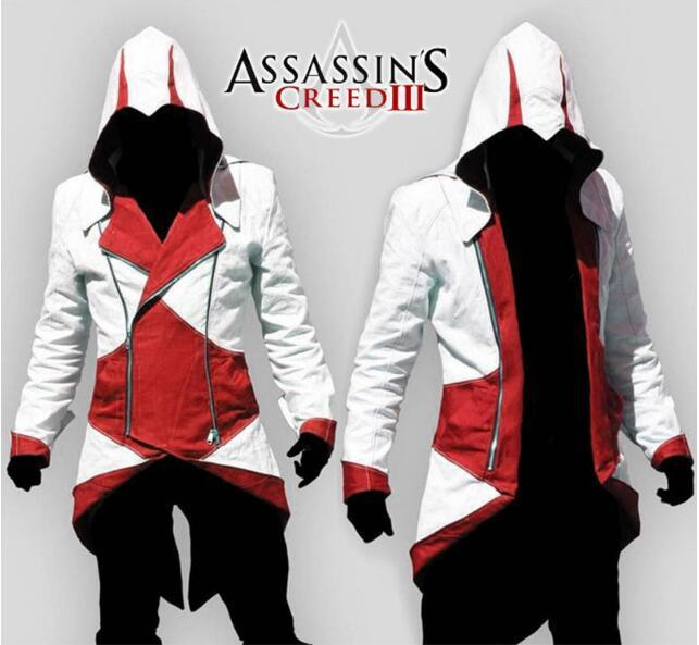 Wholesale Assassins Creed 3 Iii Conner Kenway Hoodies Jacket