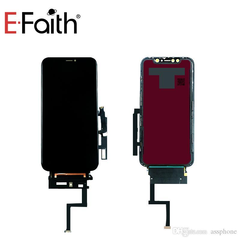Incell gute Qualität LCD-Anzeige für iPhone XR-Bildschirm Ersatz Ersatzteile mit Metallplatten Freier DHL