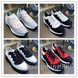 2020 роскошные дизайнерские туфли VNR трикотажные повседневные женские мужские кроссовки натуральная кожа мятая овчина Арена на шнуровке роскошные кроссовки J0104