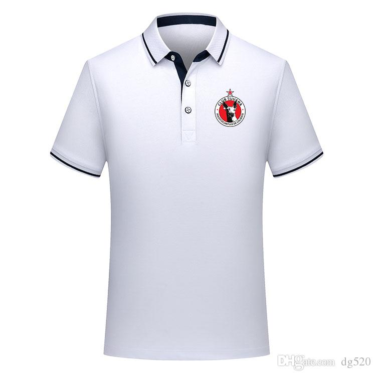 Tay versiyon kalite 2019 2020 Meksika Club Tijuana futbol polo gömlek Futbol Jersey2 MALCORRA Kalinski L.CHAVEZ Xolos de Tijuana Polo Şir