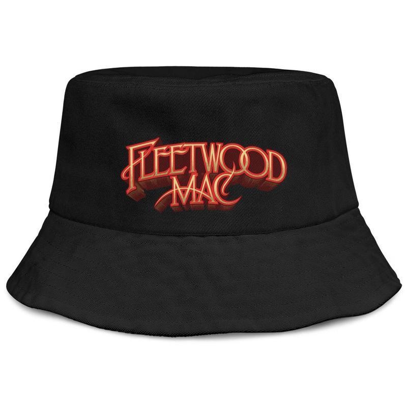 Logo mens e donne Fleetwood Mac buckethat stili sportivi a guscio Baseballcap il meglio di The Doobie Brothers attivi