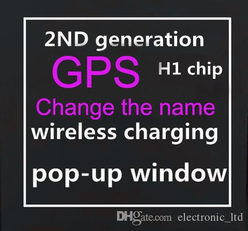 New 2020 GPS Rename AP2 Bluetooth headset H1 Chip Wireless Charging Case Optical In-Ear Detection Pods headphone PK Air2 i200 i1000 i500tws
