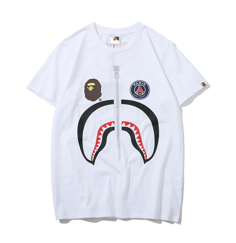 Stree Fishion Homens Mulheres Brandt-shirt Designershirts Luxo shirts Rua Hiphop camisetas Verão camisetas mangas curtas com capuz B20022001T