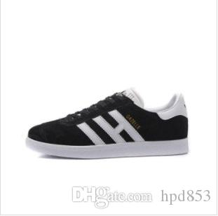 2018 Original Gazelle Vintage Amoureux Occasionnel Chaussures Campus Pop Fille et Garçon GAZELLE OG Superstar Plat Casual Sneakers 123456
