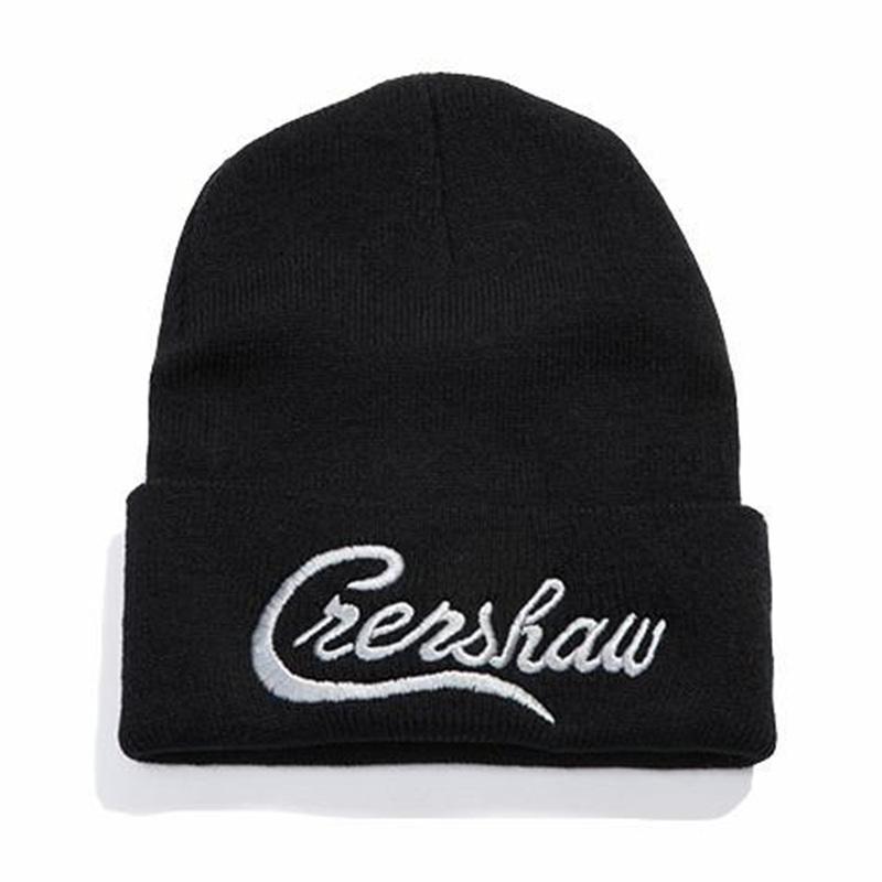 Dropshipping Nipsey Hussle Crenshaw Gorros de cada día de mujeres de los hombres de punto sombrero del invierno sólido Hip-hop Skullies del casquillo del sombrero del capo unisex