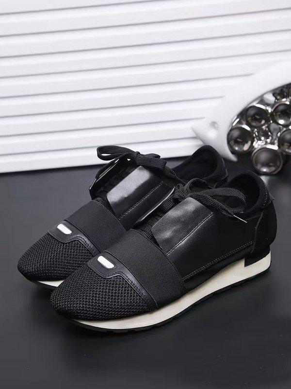 Scarpe firmate MENS scarpe di lusso 2019 BRAND modo poco costoso APPARTAMENTI CORRIDORI RACER SCARPE delle donne casuali