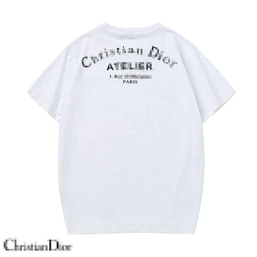 Herren Designer-T-Shirt Luxus-Bären-Muster-T-Stücke DIOR-Mode-Männer Druck kurzer Ärmel 2020 Sommer-modische Frauen-T-Shirt Großhandel