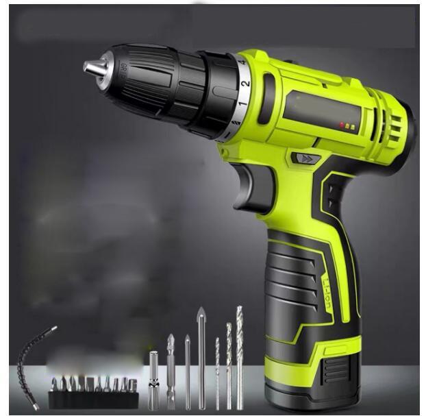 12v Perceuse sans fil batterie Perceuse Mini Outils électriques Tournevis électrique Batteries électriques Tournevis Eu US AU plug