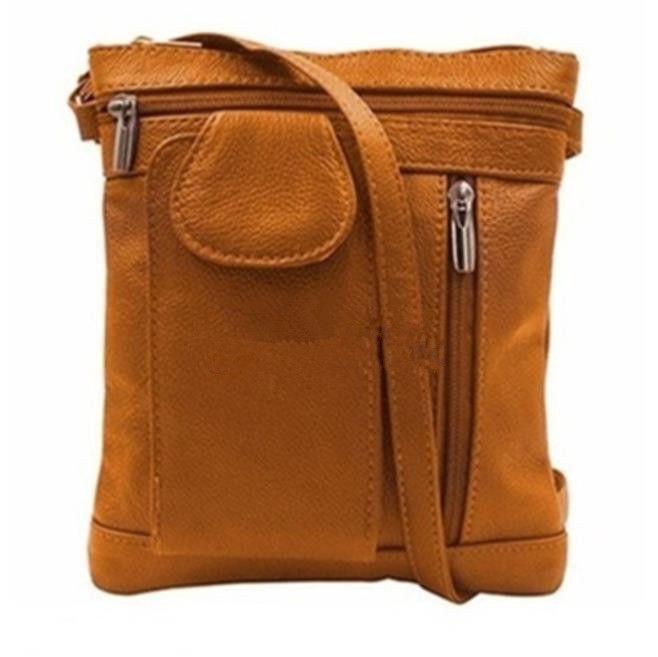 Women Shoulder Bags Fashion Genuine Leather Girl Lady Bag Multi-functional single shoulder bag Slung handbag 22cm x 18.5cm
