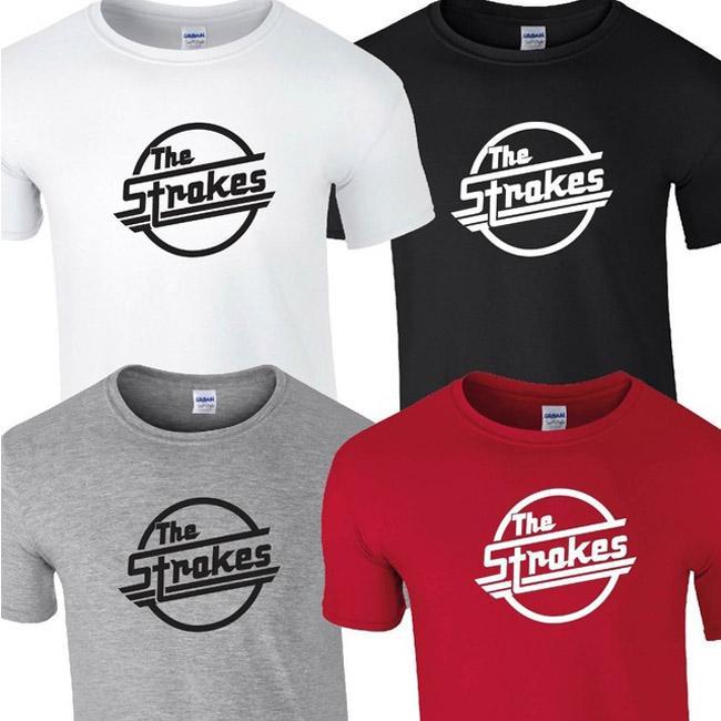 스트로크의 T 셔츠 TOP TEE TSHIRT BAND 음악 ROCK 펑크 재즈 영혼 인디 앨범 T 셔츠 티 셔츠 남여 더 크기와 색상