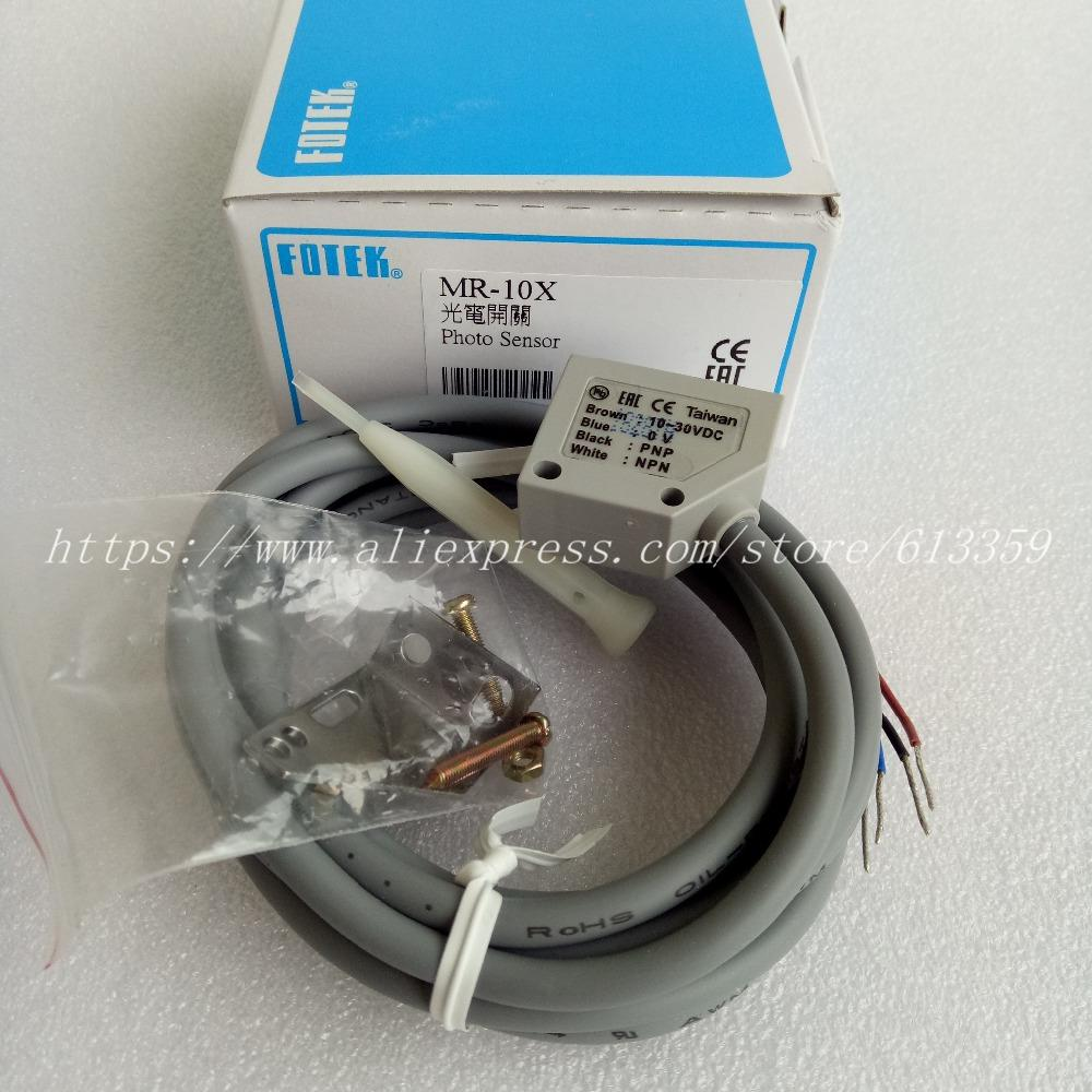1pcs New Fotek Photoelectric Switch MR-10X