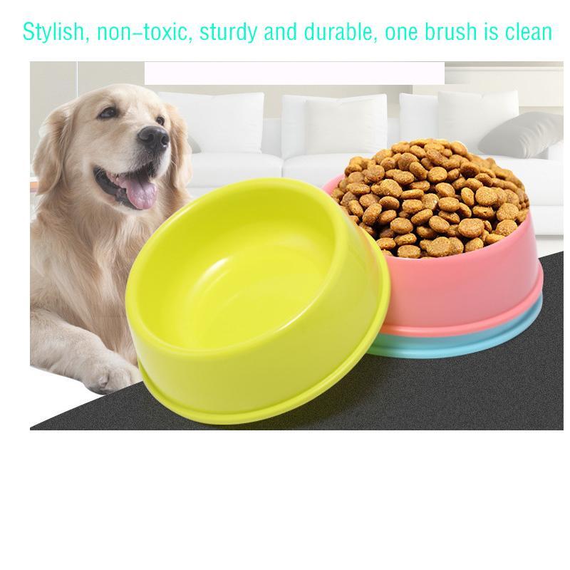 مستلزمات الحيوانات الأليفة اللوازم الكلب الكلب وعاء الطعام وعاء واحد تيدي كلب صغير الشرب حوض الأزرق والأخضر والوردي