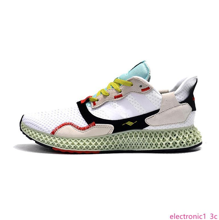 Designer-Schuhe Hender Scheme ZX 4000 Futurecraft 4D Sportschuhe Sneaker für Herren ZX4000 Turnschuhe Carbon-Männer Sport Traine